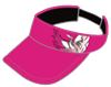 Pink Visor (Can be worn in games)